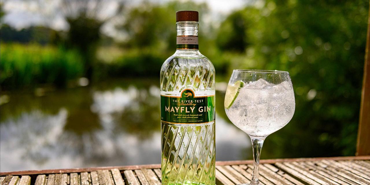 Mayfly Gin at Houghton Lodge Gardens