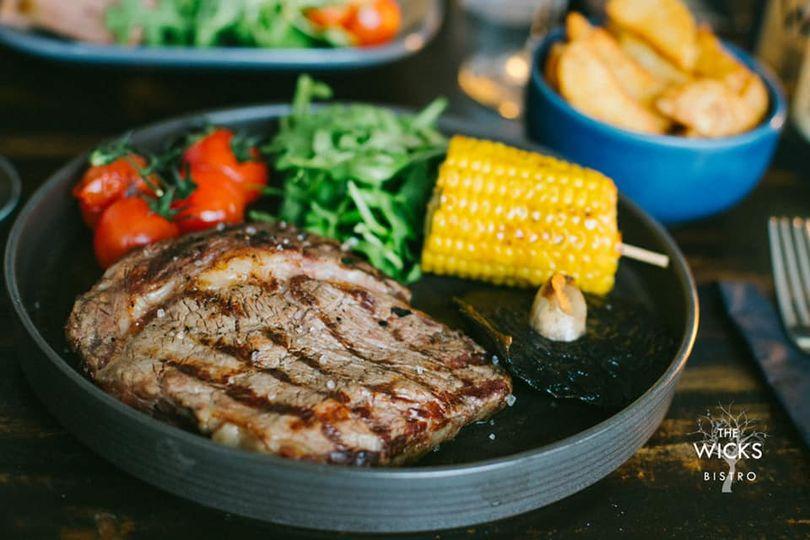 Steak Night Thursday @ The Wicks